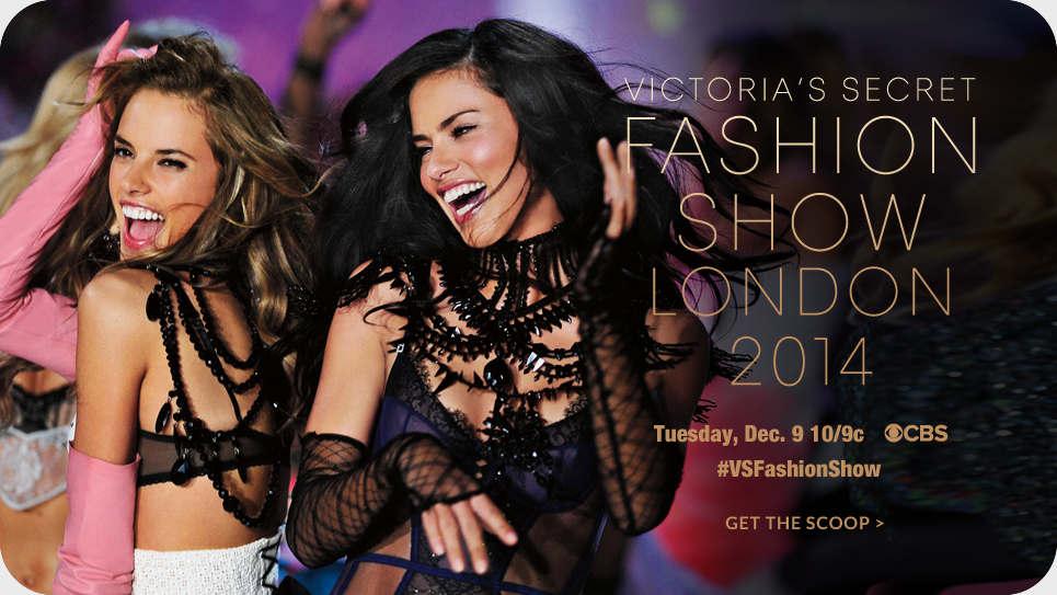 مراسم The Victorias Secret Fashion Show 2014