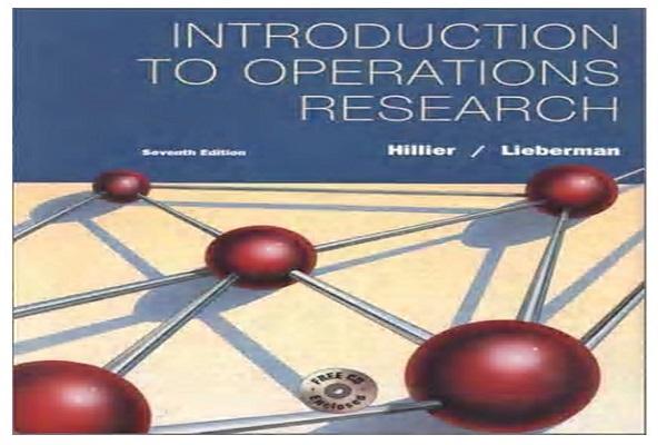 دانلود کتاب  تحقیق در عملیات هیلییر و لیبرمن(زبان لاتین)