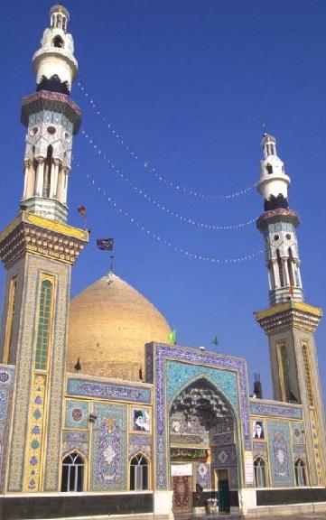 مراسم معنوی غبارروبی آستان مقدس امامزاده سید محمد قهدریجان
