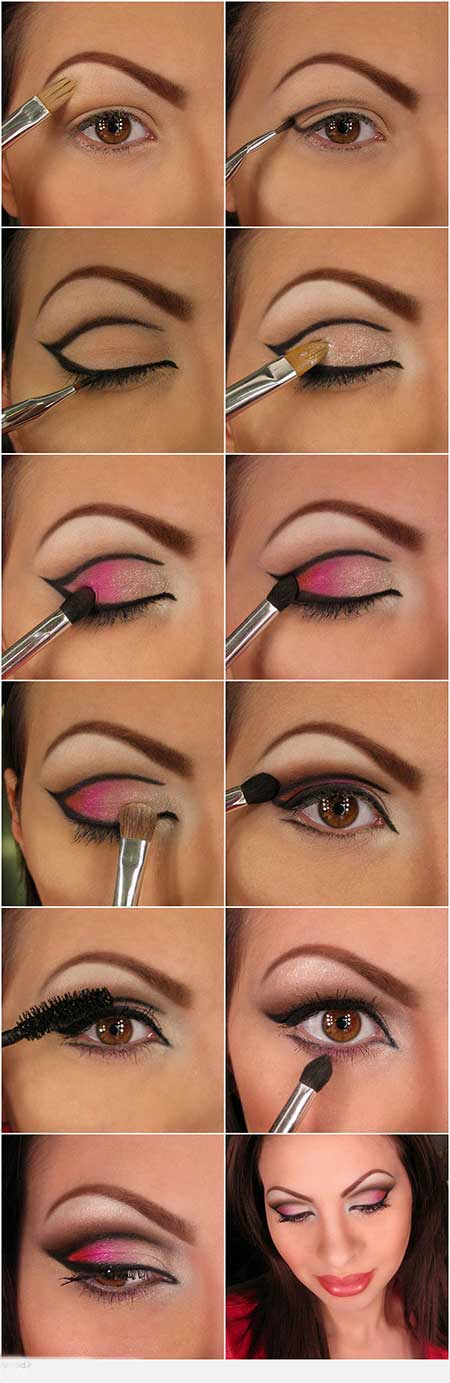 آرایش, آرایش صورت, آرایش چشم, آموزش, آموزش آرایش, آموزش آرایشگری, آموزش خودآرایی, خودآرایی, زیبایی, نکات آرایشی, پیرایش, چشم