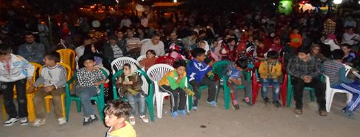 برنامه فرهنگي طلوع شبانه با اجراي بچه هاي مسجد امام جعفر صادق (ع)-رمضان93