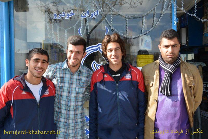 سه فوتبالیست  بروجردی همراه با گهر دورود در لیگ برتر جوانان