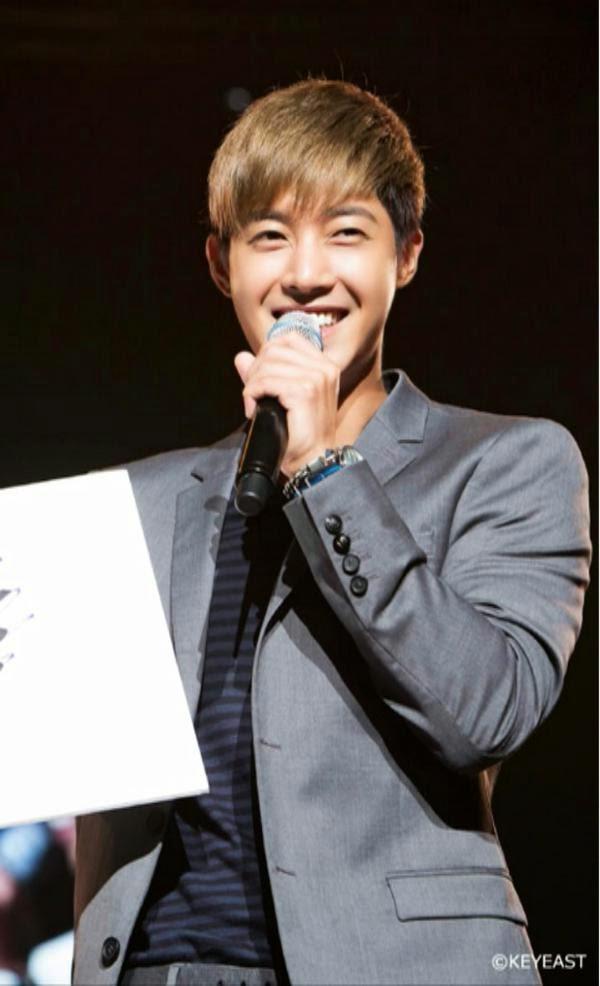 [Photo] Kim Hyun Joong - Japan Mobile Site Update [14.12.12]