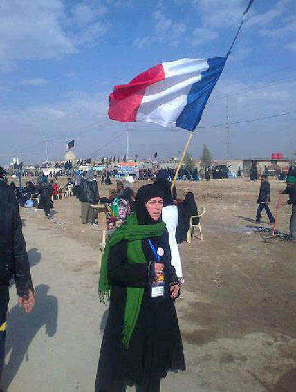 عکس راهپیمایی زوار اربعین حسینی