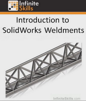 SolidWorks - Weldments Training Video آموزش تصویری طراحی جوشکاری در سالیدورک پروژه فایل های نمون تمرین کاربردی