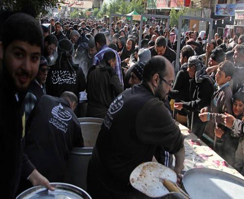 عکس و پوستر راهپیمایی عاشقان و زوار در اربعین حسینی