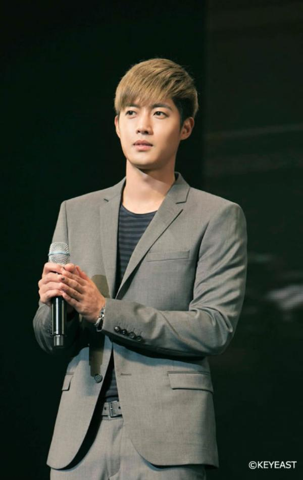 [Photo] Kim Hyun Joong - Japan Mobile Site Update [14.12.15]