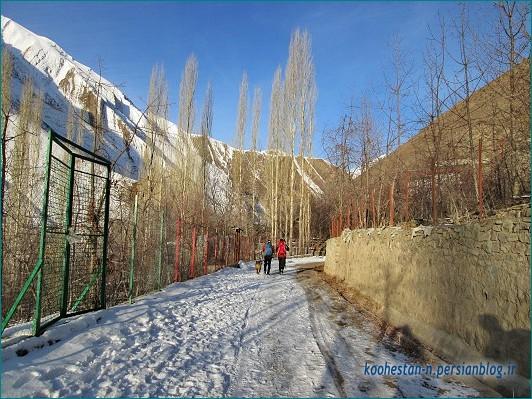 مسیر قله استرچال از آهار