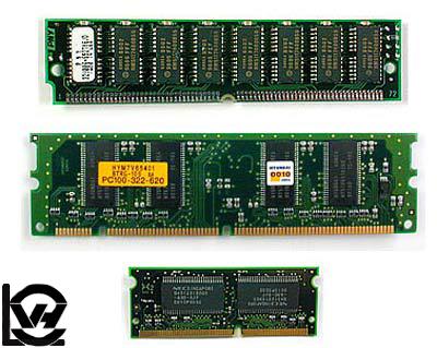 آموزش آشنایی با حافظه های Static RAM و Dynamic RAM
