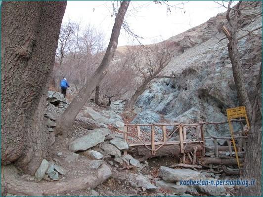 مسیر قله چین کلاغ از سعادت آباد