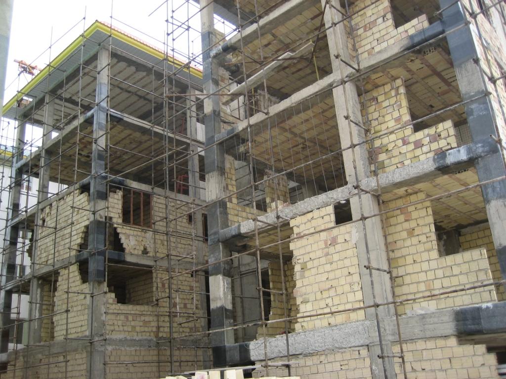 اشکالات اجرایی ساختمانها با مصالح بنایی