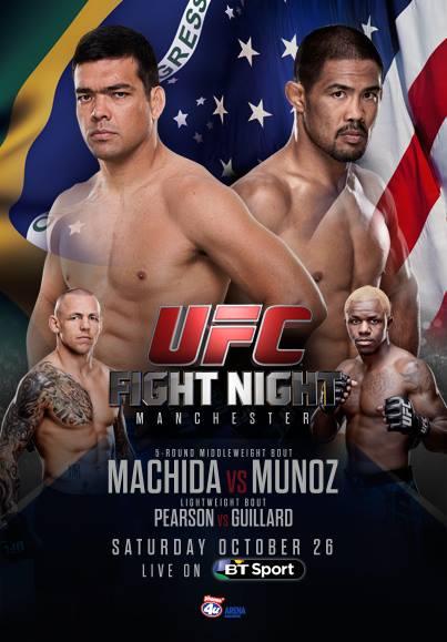 دانلــود یو اف سی فایت نایت 30 | UFC Fight Night 30 : Machida vs. Munoz