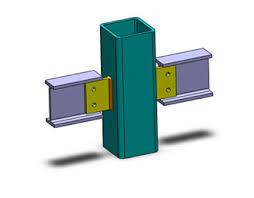 انیمیشن معرفی انواع اتصالات تیر به ستون