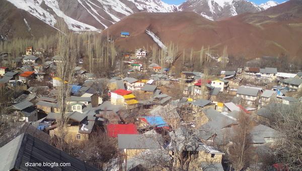 روستای دیزان/اربعین 93