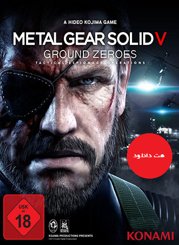 Metal Gear Solid V Ground Zeroes pc cover دانلود بازی Metal Gear Solid V Ground Zeroes برای PC