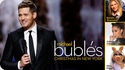 شو تلویزیونی Michael Bubles Christmas in New York 2014