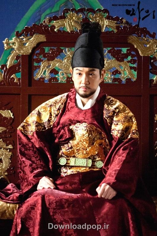 هان سانگ جین در نقش افسر هونگ یونگ سریال ایسان