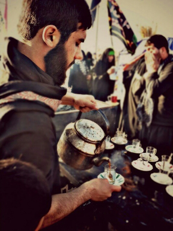 چای کربلایی در موکب