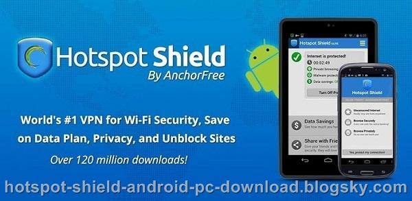 دانلود نسخه جدید نرم افزار فیلترشکن hotspot shield