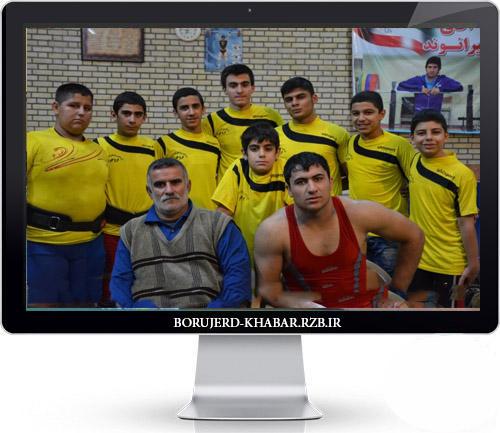 گزارش  تصویری از تمرین وزنه برداران بروجردی