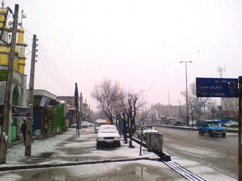 برف +آبگرم+زمستان