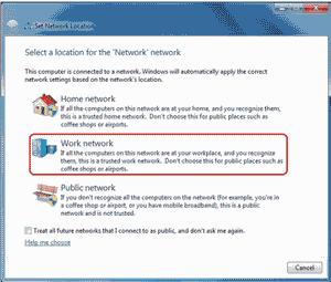 شبکه کردن ویندوز 7