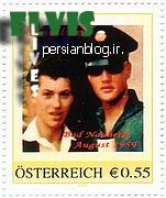 تمبرهای الویس پریسلی منتشر شده در اتریش