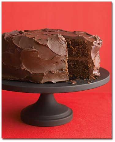 کیک شکلاتی پُر از شکلات