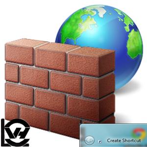 آموزش ساخت یک میانبر جهت فعال و غیرفعال سازی دیوار آتشین در ویندوز
