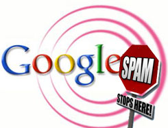 چک کردن اسپم شدن سایت در گوگل