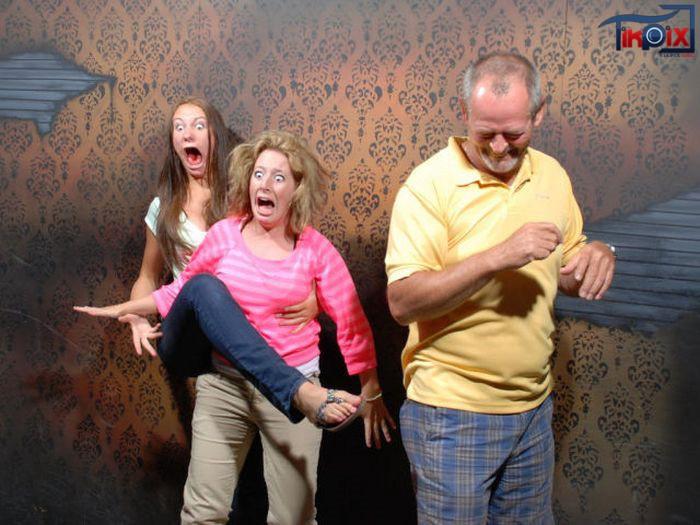 عکس قیافه دخترا وقتی می ترسن