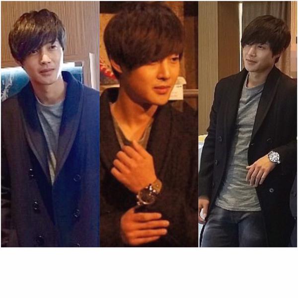 [Photo] Kim Hyun Joong - LUXBENE Edition, GaGa MILANO Watch Store Opening in Busan [14.12.22]