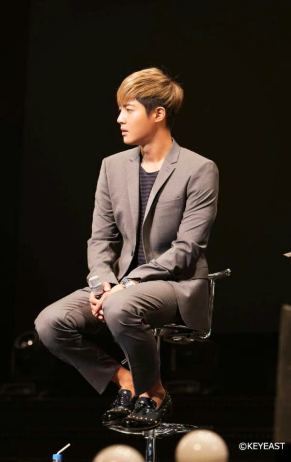 [Photo] Kim Hyun Joong - Japan Mobile Site Update [14.12.26]