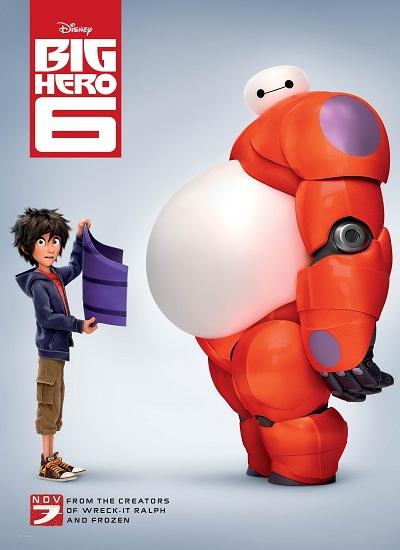 دانلود رایگان انیمیشن Big Hero 6 2014