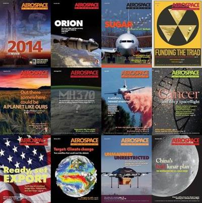Aerospace America Magazine 2014 Full Collection