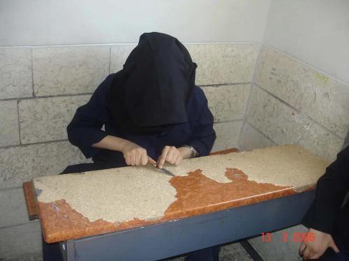 عکس حرکت زشت یک دختر دبیرستانی ایران