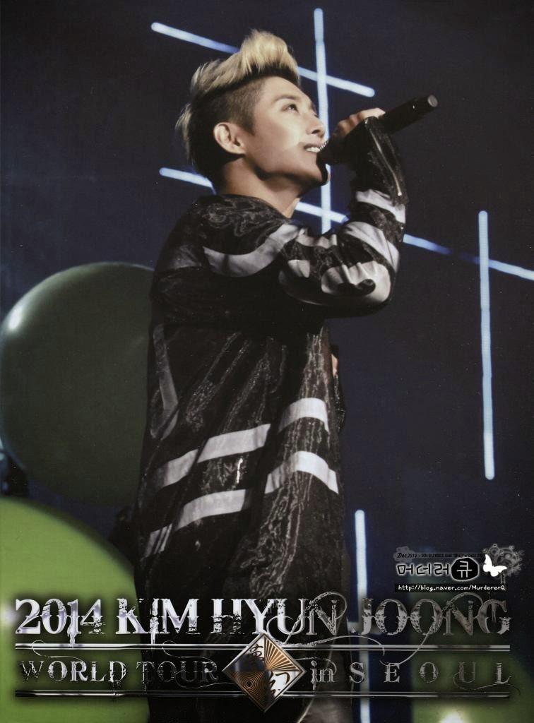 MurdererQ Scan_Kim Hyun Joong 2014 Phantasm World Tour in Seoul DVD