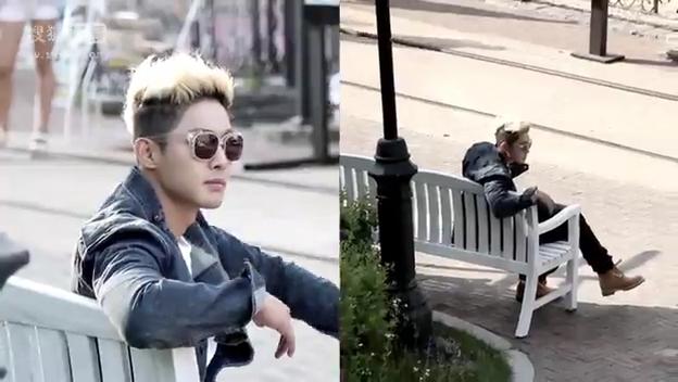 ScreenCaps_Kim Hyun Joong Beauty Beauty MV Making