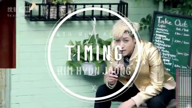 ScreenCaps_Kim Hyun Joong TIMING Album Cover Making