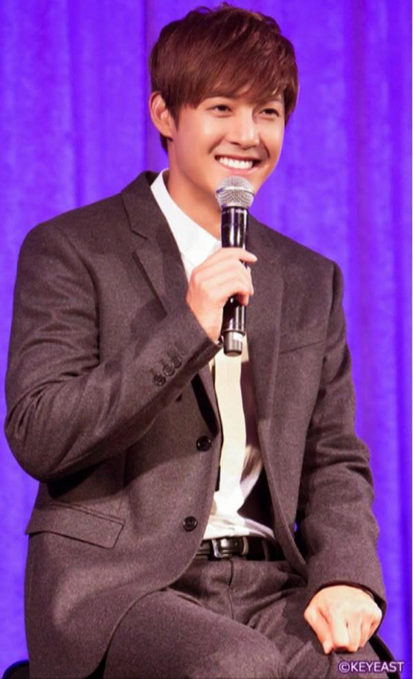 [Photo] Kim Hyun Joong - Japan Mobile Site Update [14.12.29]