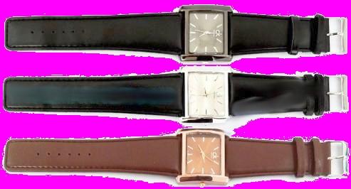 خرید اینترنتی ساعت مچی بند چرم مردانه  در سایز های مختلف