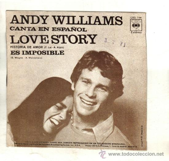 دانلود آهنگ زیبای Andy Williams - Love Story (Where Do I Begin?)