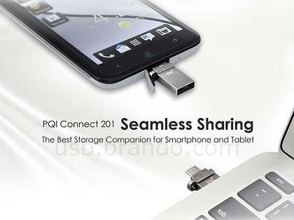 افزایش حافظه اندروید با یک Flash USB