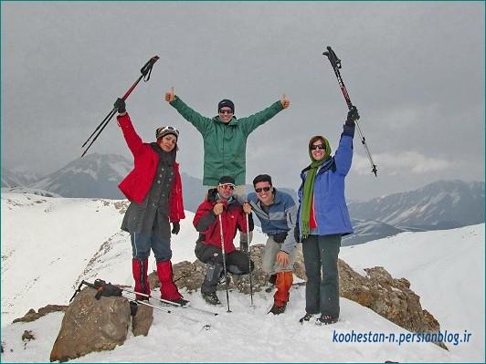 گروه نشاط زندگی - قله پرسون
