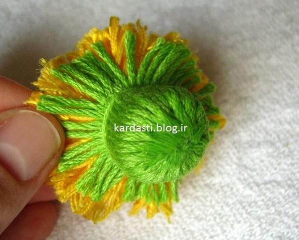 آموزش گل کاموایی