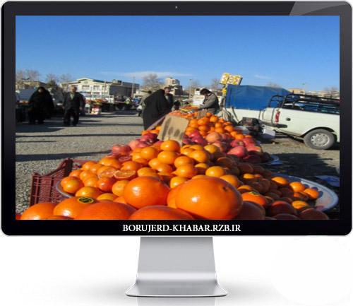 سازمان میادین میوه و تره بار شهرداری بروجرد با فروشندگان سیار برخورد می کند