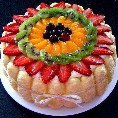 اگر کیک میوه ای را دوست دارید کلیک کنید