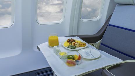 عطر و طعم غذا در سفرهای هوایی