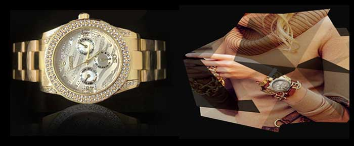 ساعت رولکس طلایی