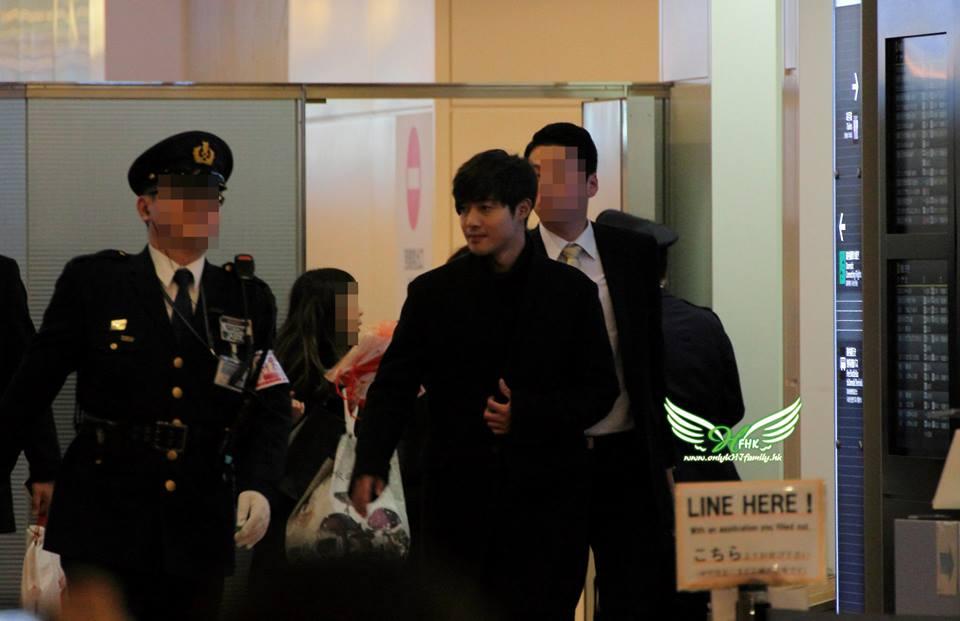 [Onlykhjfamily Photo] Kim Hyun Joong - Arrived Haneda Airport [2015.01.09]